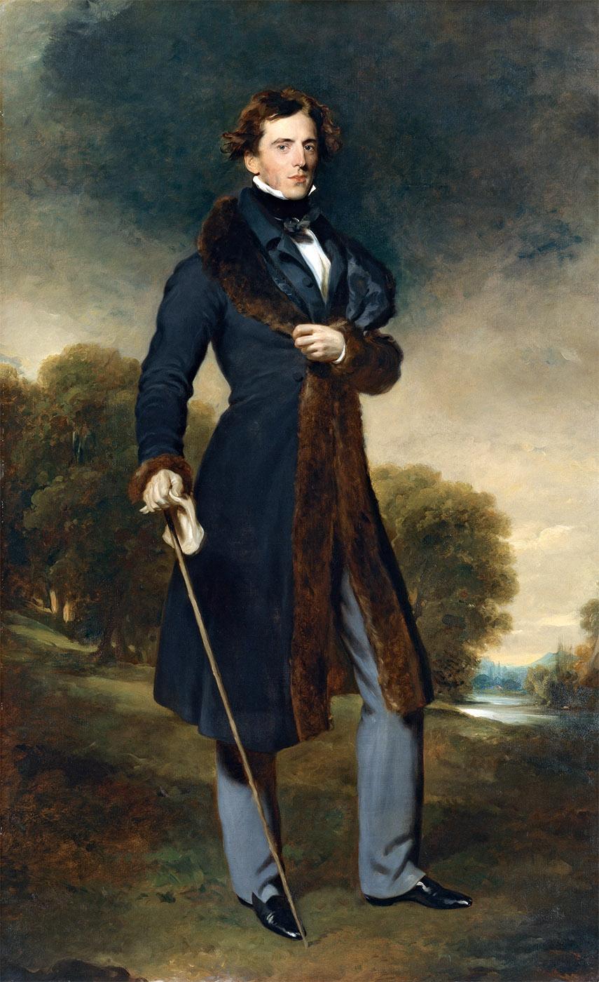 Thomas Lawrence. David Lyon. Hacia 1825. Museo Nacional Thyssen-Bornemisza. Madrid.
