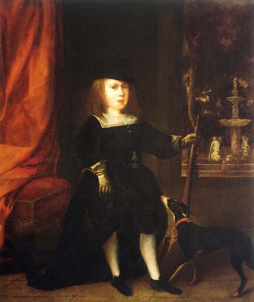Anónimo madrileño. Retrato de Carlos II niño. 1665. Museo del Prado. Madrid.