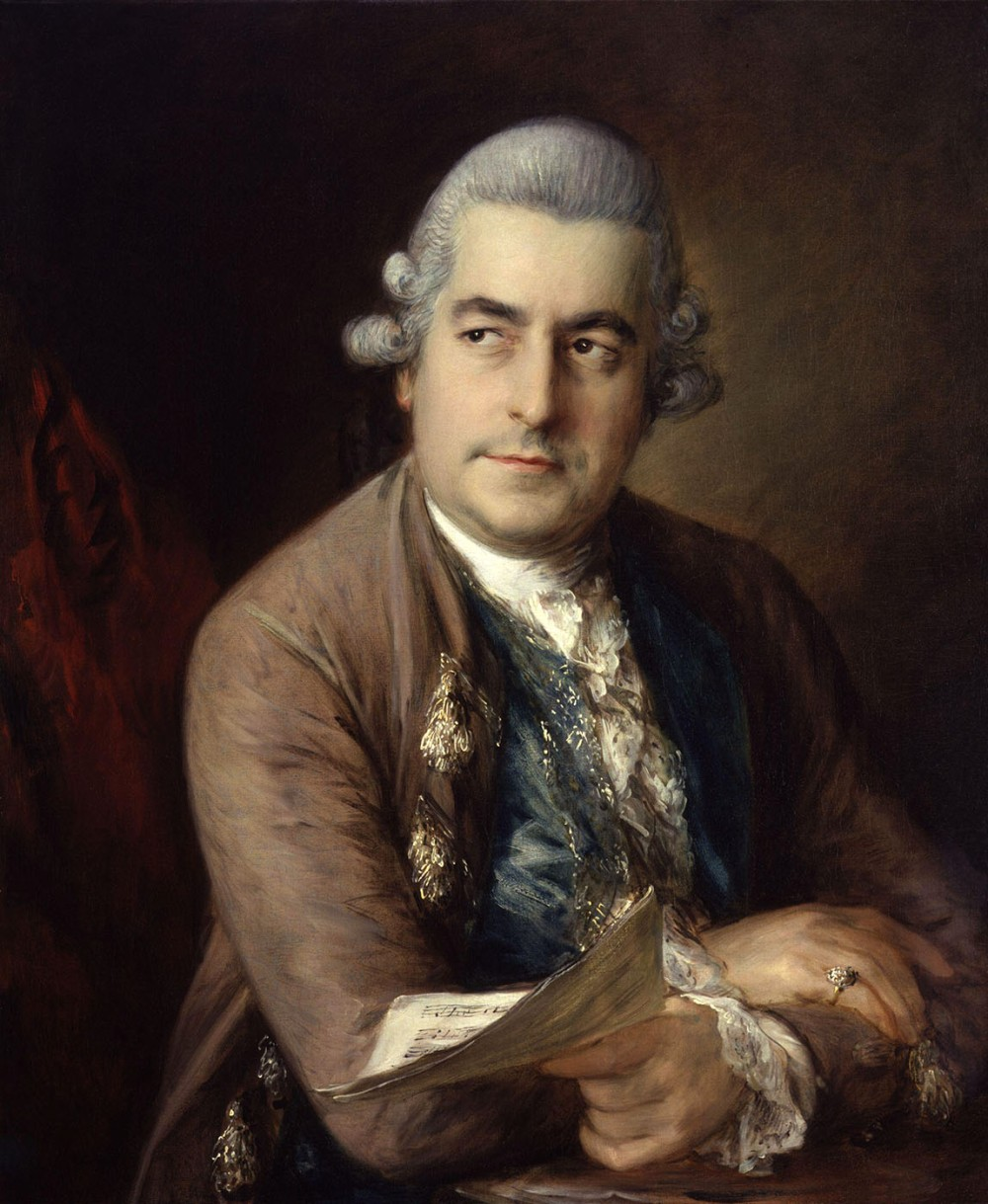 Thomas Gainsborough. Johann Christian Bach. 1776. National Portrait Gallery. Londres.