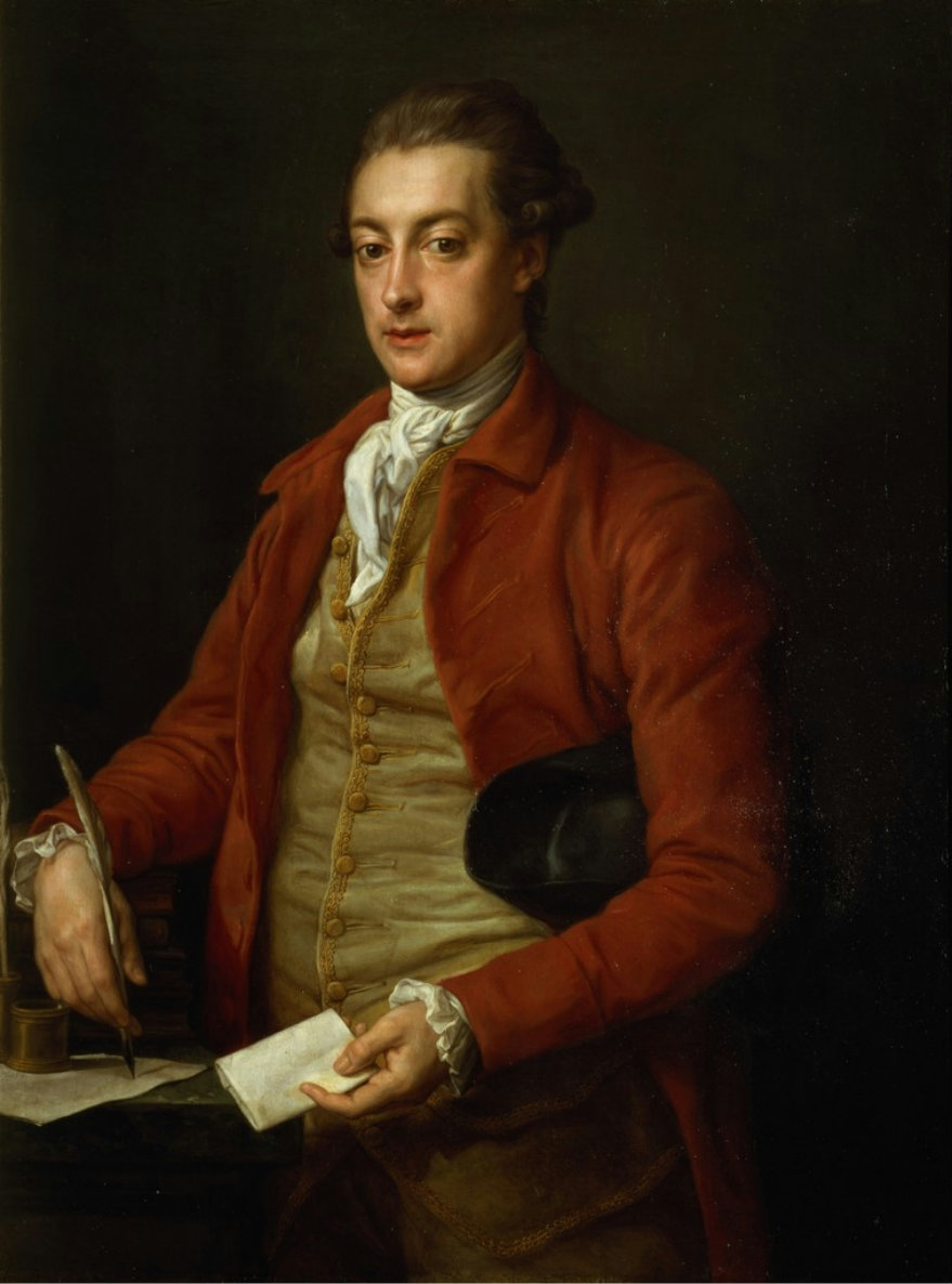 Pompeo Girolamo Batoni. Retrato del Honorable Lionel Damer.