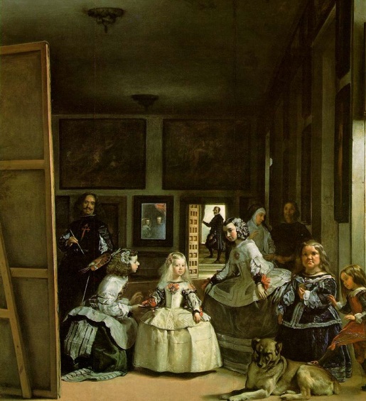 Diego Velázquez. Las meninas o la familia de Felipe IV. 1656. Museo Nacional del Prado. Madrid.