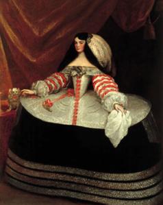 Carreño de Miranda. Condesa de Monterrey. 1665-70. Museo Lázaro Galdiano.