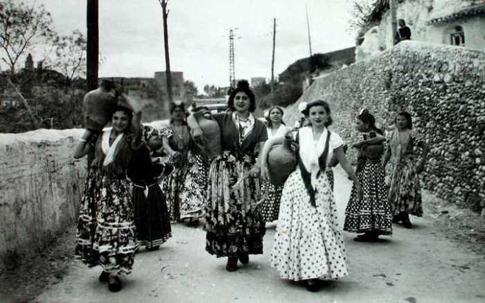 Gitanas de Granada.
