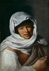 La gallega de la moneda. Anónimo. 1650. Museo del Prado. Madrid.