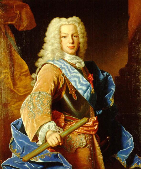Jean Ranc. Fernando VI. 1731. Museo Naval.