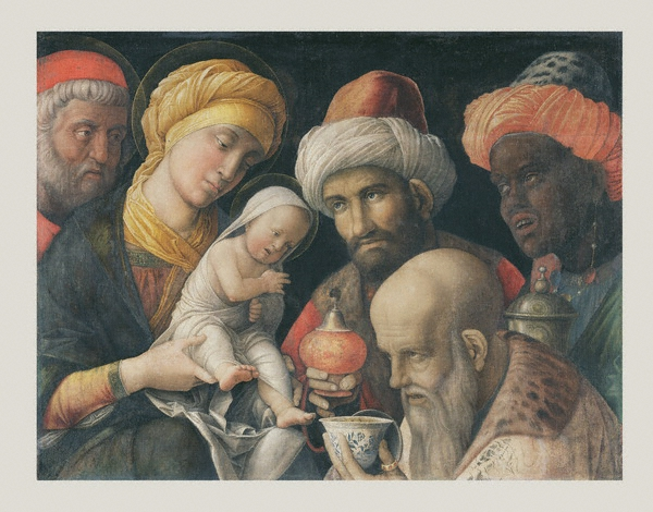 Andrea Mantegna. Sagrada Familia. 1495-1500. Getty Museum. Nueva York