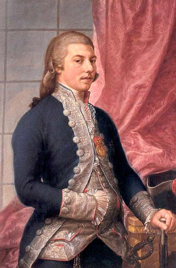 "Francisco Bayeu. ""Manuel Godoy"". 1790. Real Academia de Bellas Artes de San Fernando. Madrid."