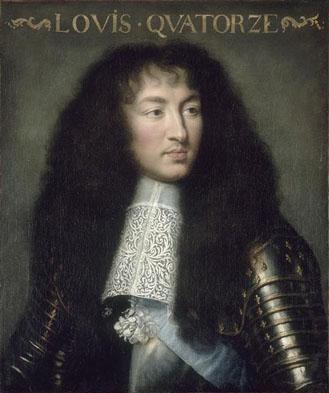 Charles Le Brun. Luis XIV.1662. Hotel de los Invalidos. Paris.