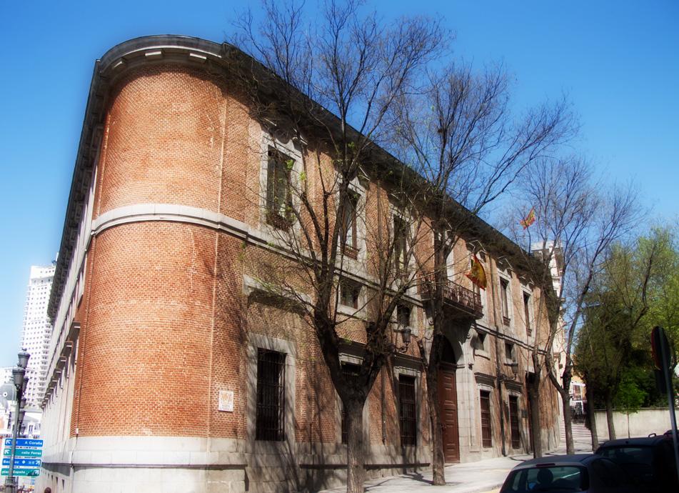 Palacio del Marqués de Grimaldi. Actual sede del Centro de Estudios Constitucionales.