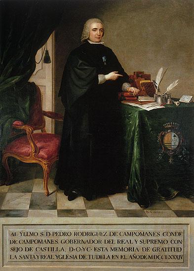 Antonio Carnicero. Pedro Rodriguez Campomanes. 1777.