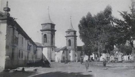 Plaza de las Delicias. La Carolina. Jaen.
