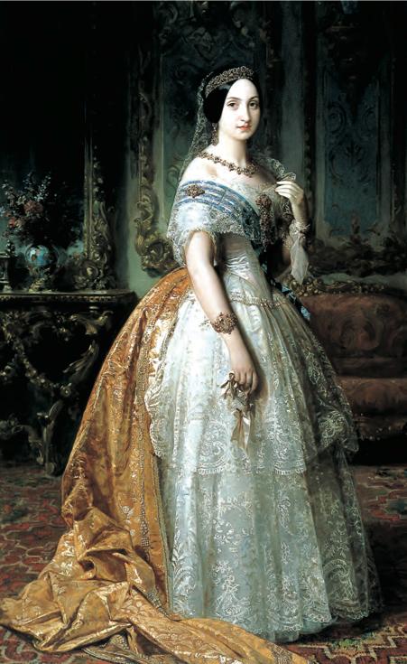 Federico de Madrazo. Infanta Luisa Fernanda de Borbón, Duquesa de Montpensier. 1851. Museo del Prado