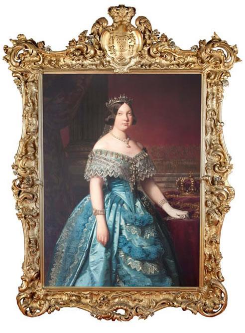 Federico de Madrazo. Isabel II. 1849. Museo del Romanticismo. Madrid.