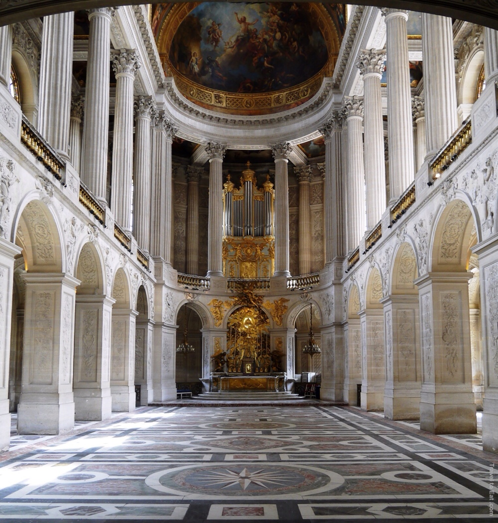 Jules Hardouin-Mansart. 1699. Capilla Real. Versalles.