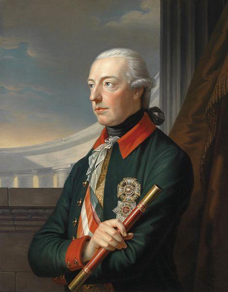 Carl von Sales. Jose II de Austria. 1832. Propiedad Particular.
