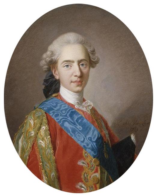 Louis-Michel van Loo. Luis XVI como delfín de Francia. 1769. Castillo de Versalles y de Trianon.