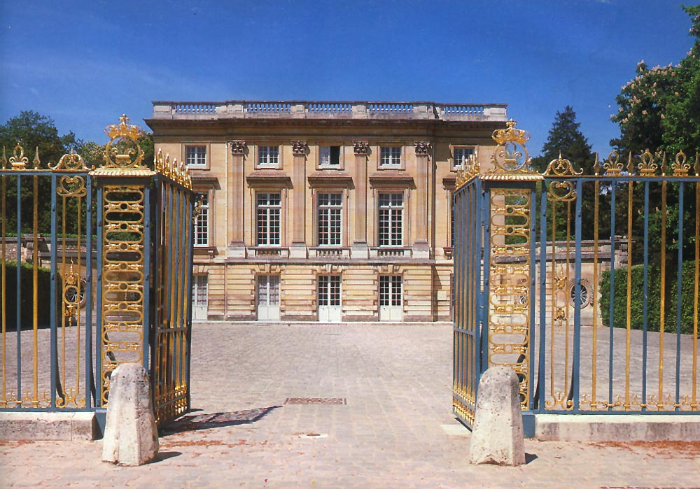 Ange-Jacques Gabriel. Petit Trianon. 1764-72. Inauguración 1769. Versalles.
