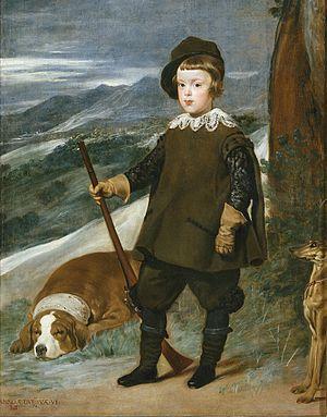 Diego Velázquez. Principe Baltasar Carlos cazador. 1635. Museo del Prado. Madrid