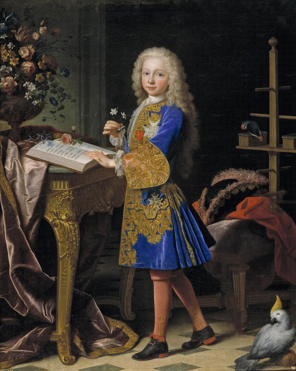 Jean Ranc. Carlos III. 1724. Museo del Prado. Madrid.