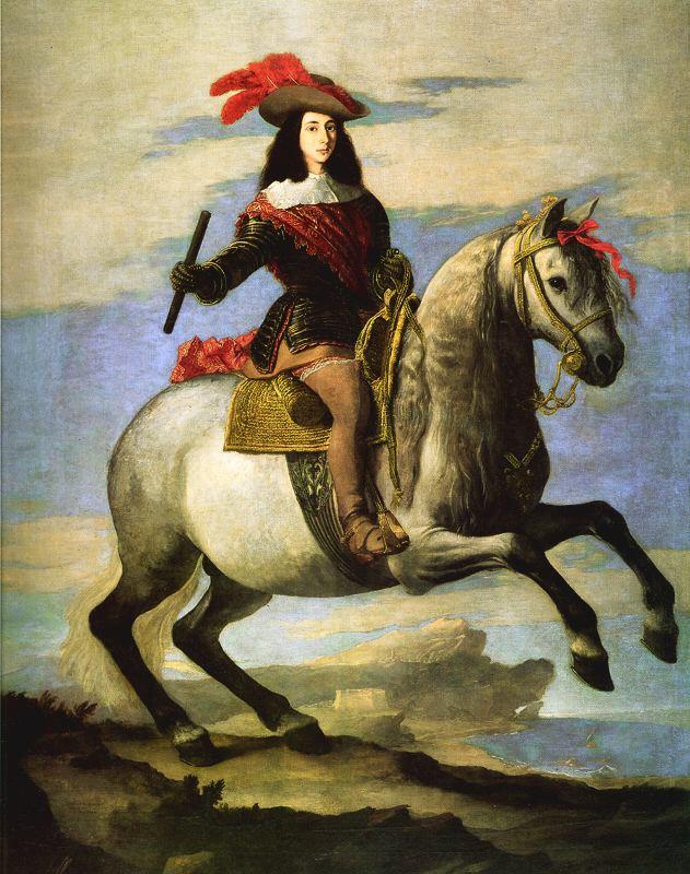José Ribera. Juan Jose de Austria. 1648. Museo del Prado. Madrid.