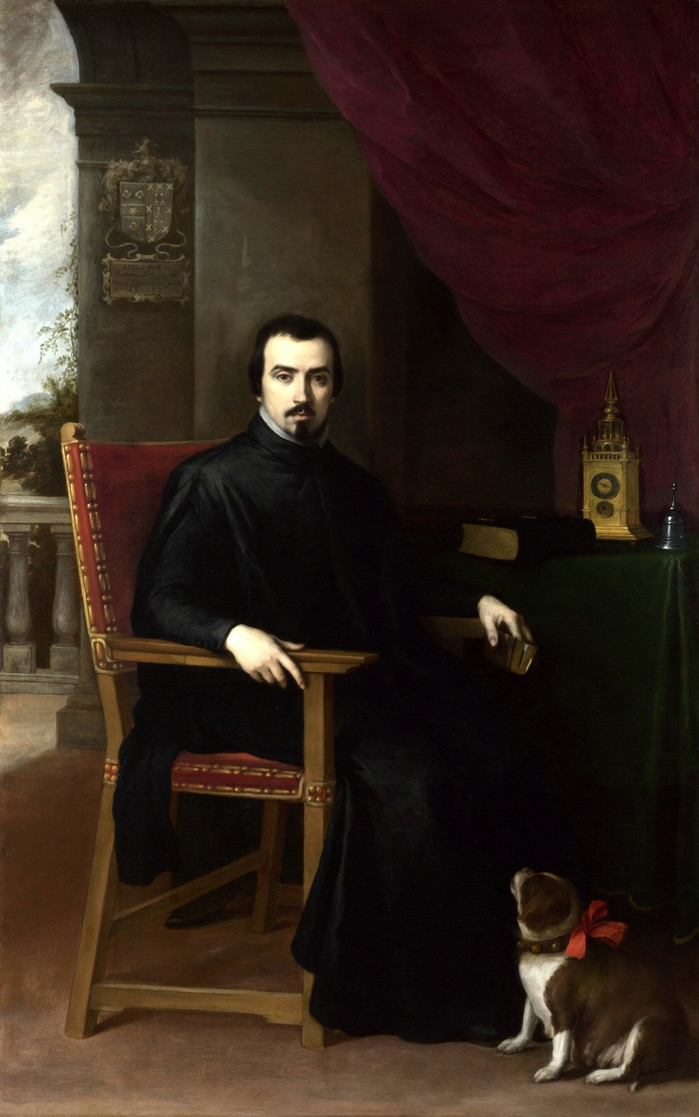 Bartolomé Esteban Murillo. Retrato de Justino de Neve.1665. National Gallery. Londres.