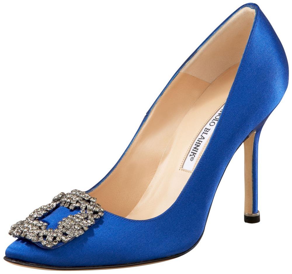 Famosos zapatos Manolo Blahnik.