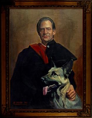 Alejandro Cabeza. Retrato de Juan Carlos I de España.