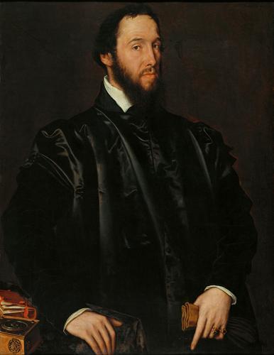 Antonio Moro. Retrato del cardenal Granvela. 1549. Kunsthistorisches Museum. Viena.