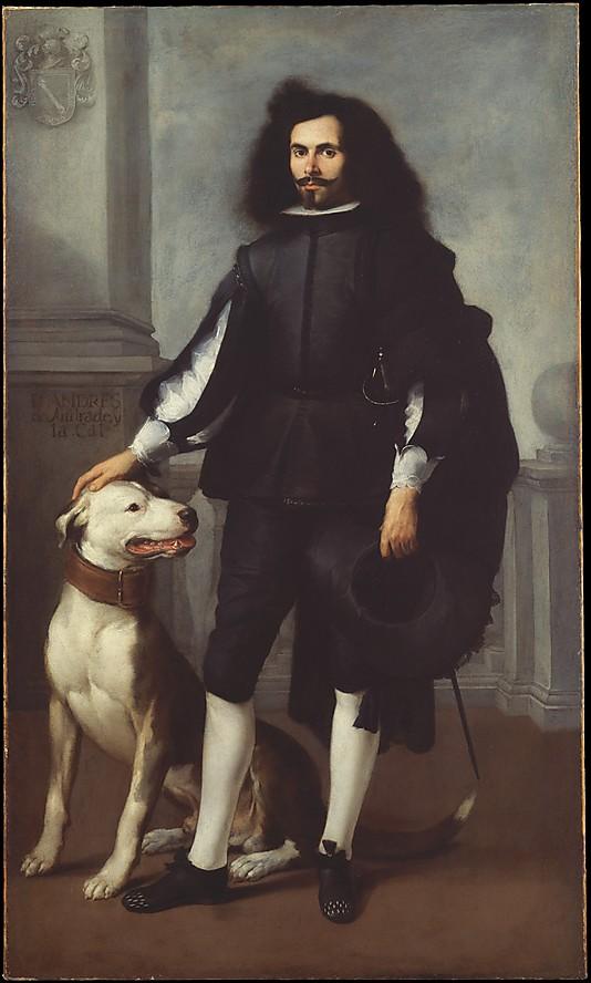 Bartolomé Estebán Murillo. Don Andrés de Andrade y la Cal. 1665. Metrpolitan Museum of New York.