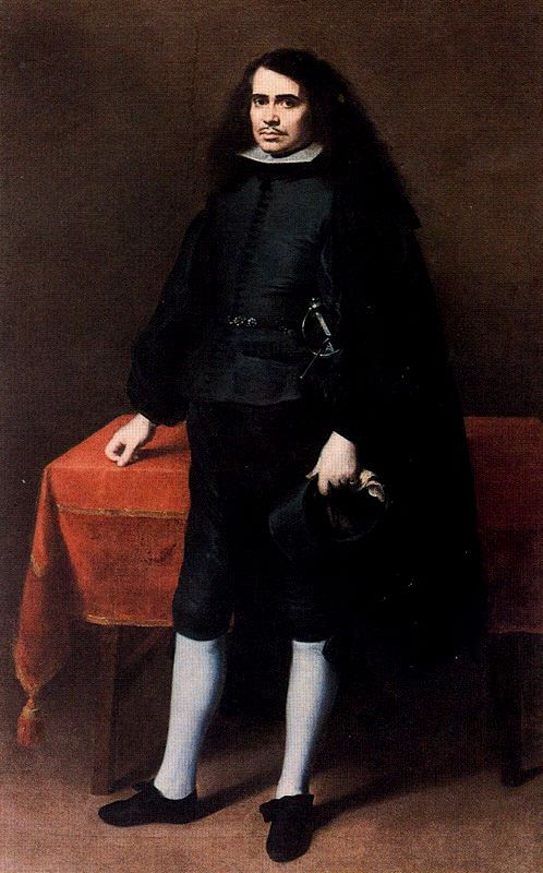 Bartolome Esteban Murillo. Caballero de golilla. 1670. Museo del Prado. Madrid