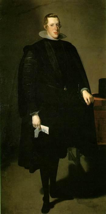 Diego Velázquez. Felipe IV. 1623-28. Museo del Prado. Madrid.