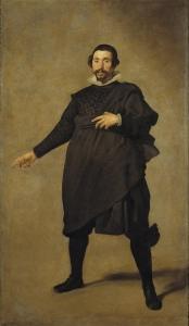 Diego Velázquez. Pablo de Valladolid. 1636-37. Museo del Prado. Madrid.