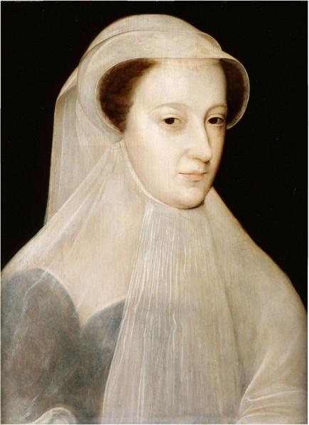 Françoise Clouet. María reina de Escocia. 1560-61. Colección de la reina de Inglaterra.