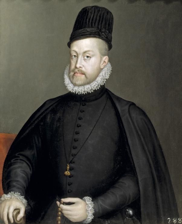 Sofonisba Anguissola. Felipe II. 1564. Museo Nacional Nacional del Prado. Madrid.