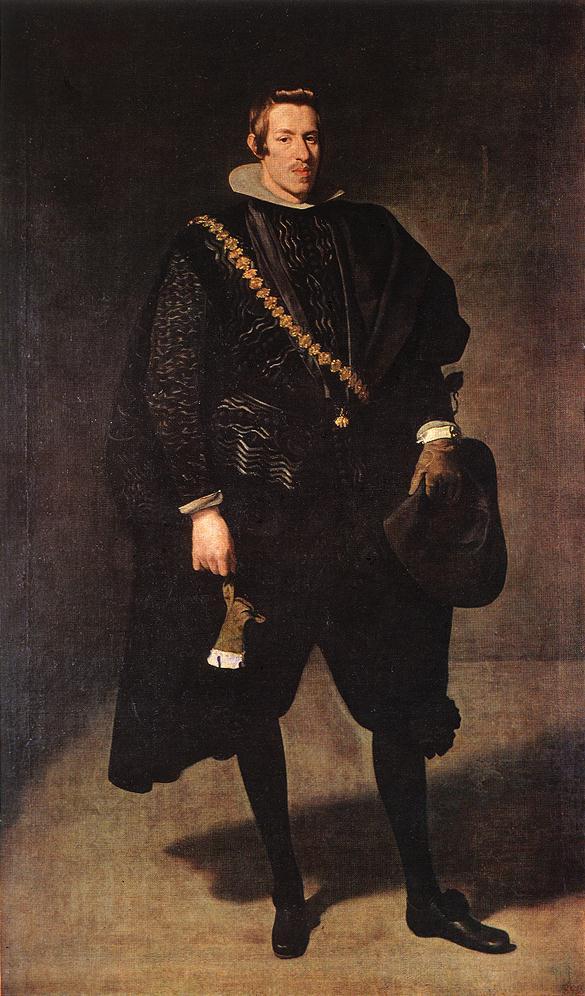 Diego Velázquez. Retrato del Infante Don Carlos. Hacia 1626-1628. Museo del Prado.