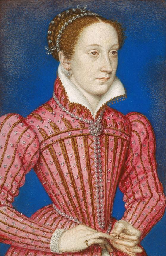 François Clouet. María, reina de Escocia. Hacia 1558. Colección Real Inglesa.