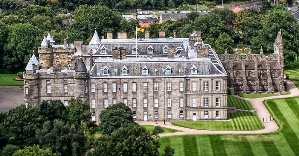 Holyrood House. Edimburgo.