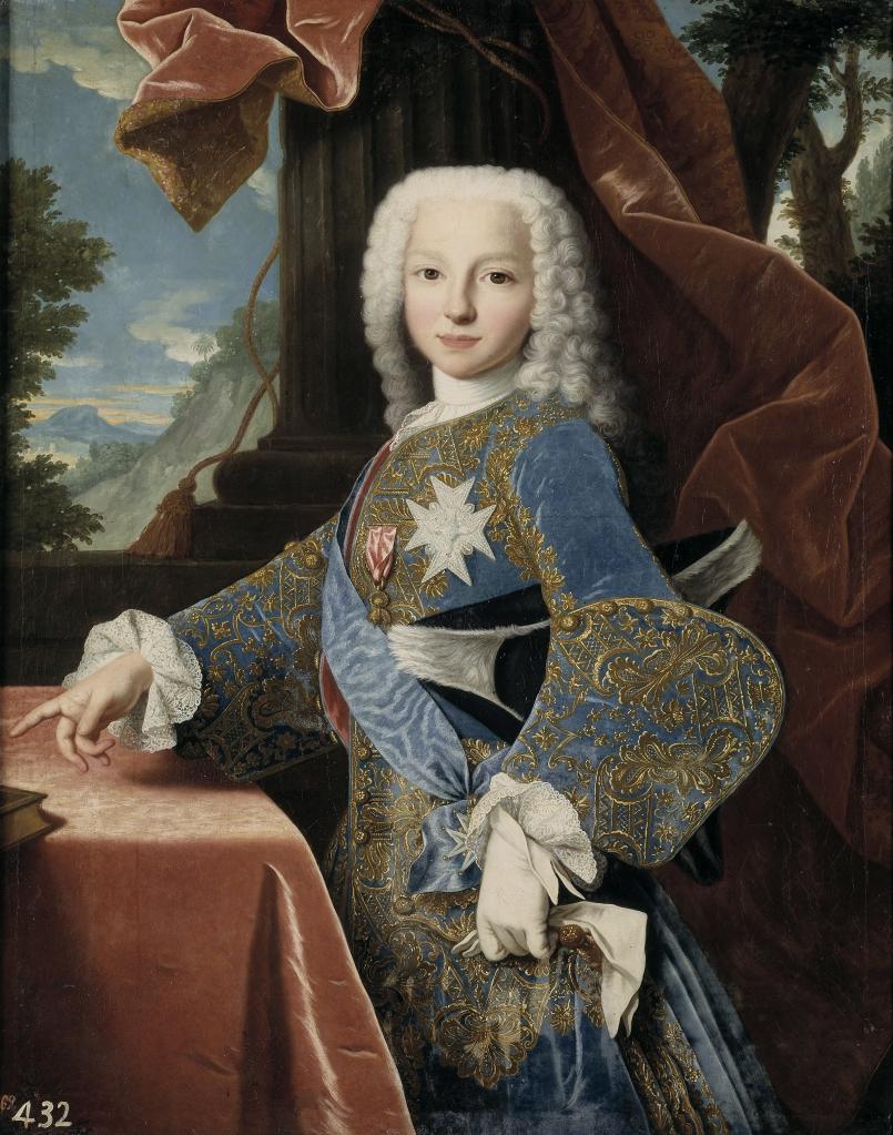 Jean Ranc. Felipe de Borbón y Farnesio, futuro duque de Parma. Colección Real. Madrid.