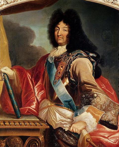 Retrato de Luis XIV de Francia