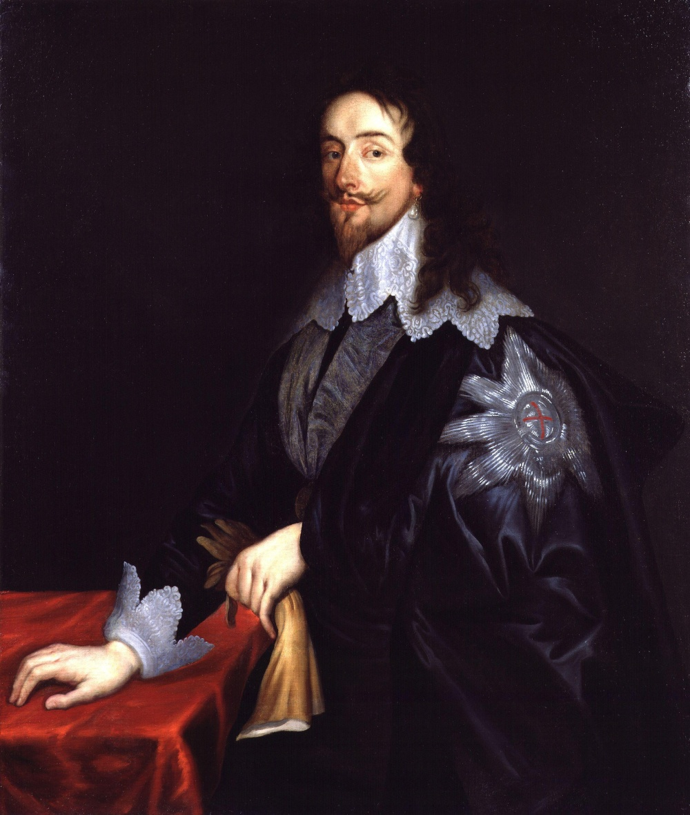 Sir Anthony Van Dyck. Carlos I. National Portrait Gallery. Londres.