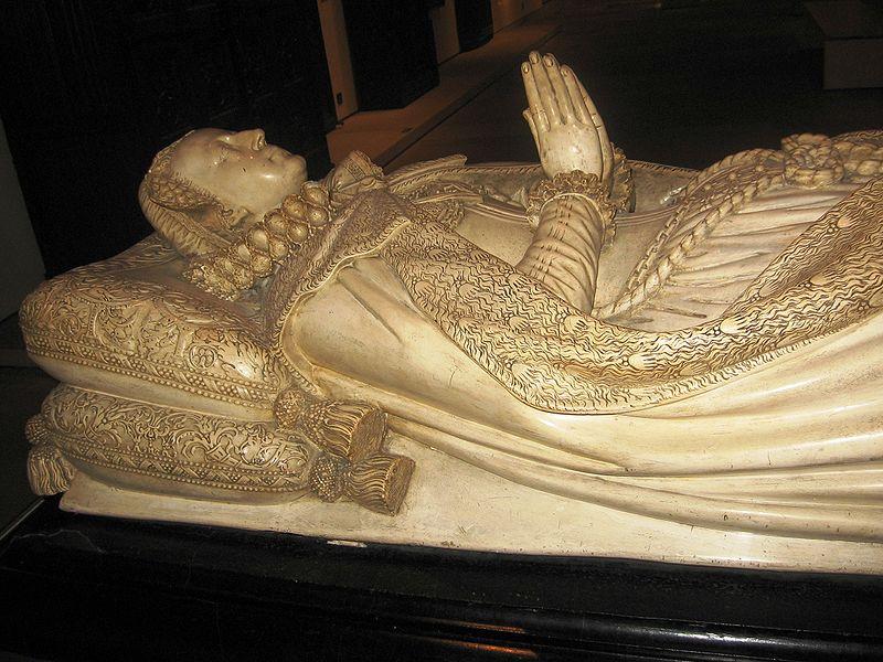 Tumba de Maria, reina de Escocia. Abadia de Westminster. Londres.