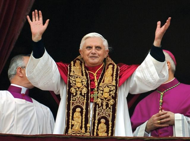 Benedicto XV. 19 de abril de 205 en su proclamación como Papa.