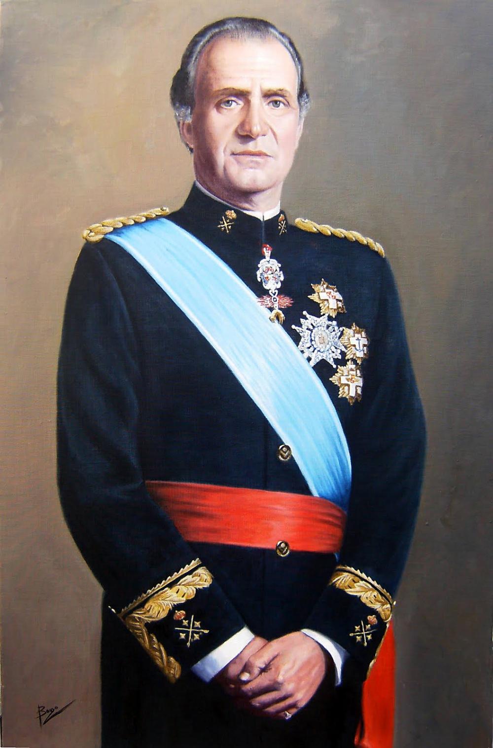 Francisco Bouzo. Juan Carlos I.  2ª mitad del s XX.
