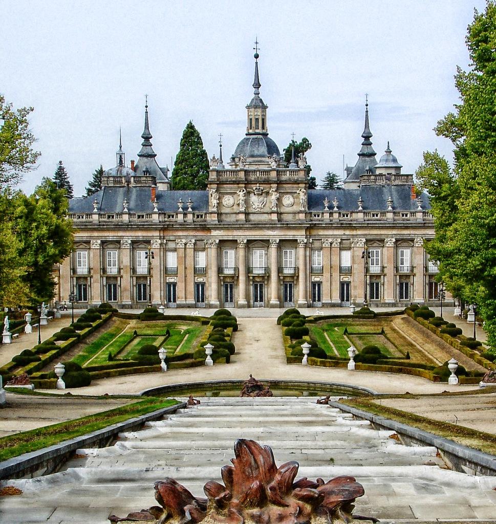 Palacio de La Granja de San Ildefonso. Segovia.
