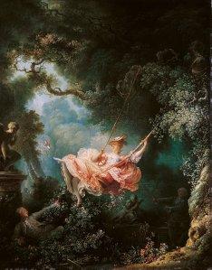 Jean Honoré-Fragonard. Los felices azares del columpio. 1767-68. Wallace Collection. Londres.