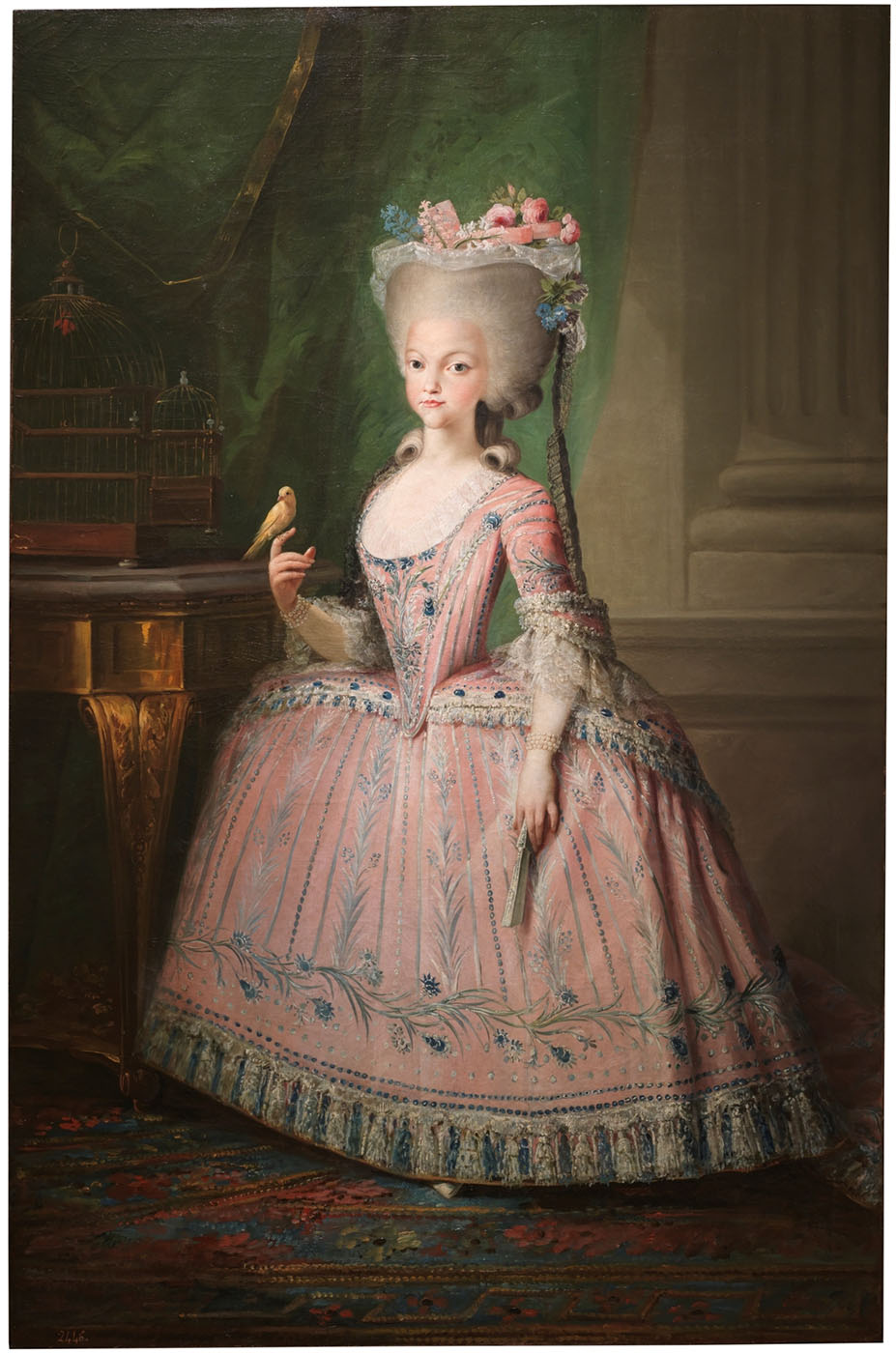 Mariano Salvador Maella. Carlota Joaquina, infanta de España, reina de Portuga. 1785. Museo Nacional del Prado. Madrid.