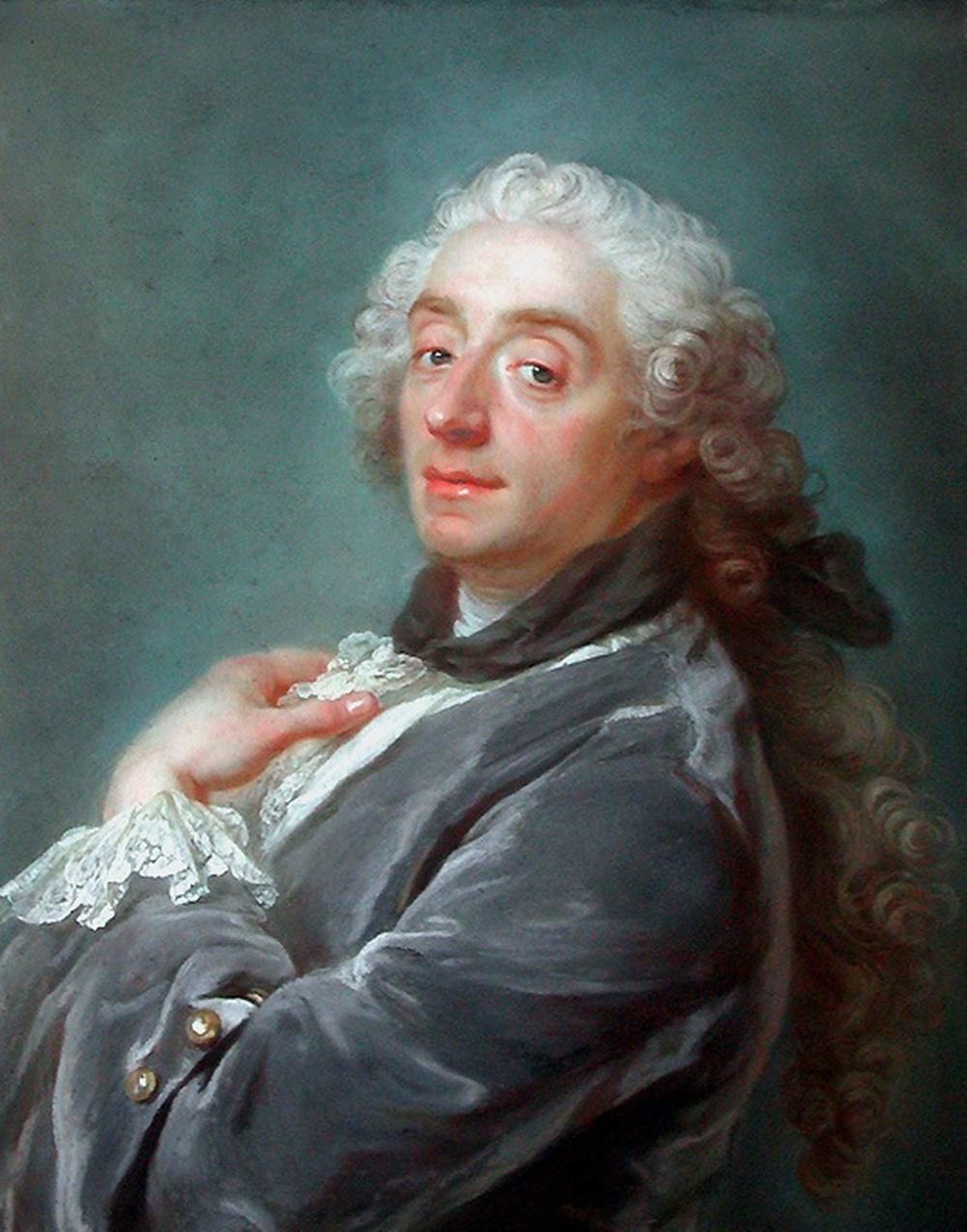 Gustaf Lundberg. François Boucher. Hacia 1741. Museo del Louvre. Paris
