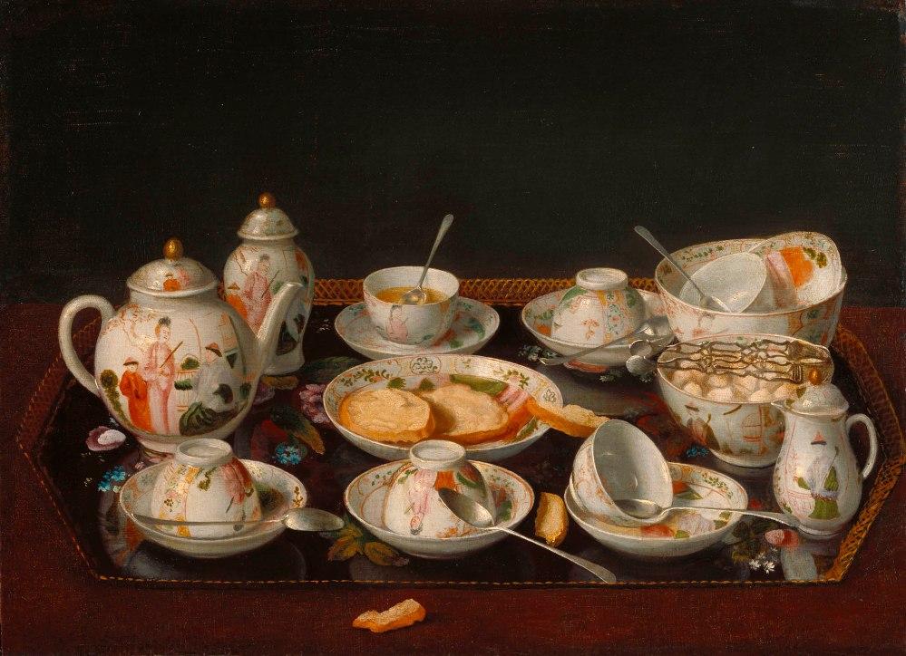 Jean Etienne Liotard. Juego de te. 1781-83.