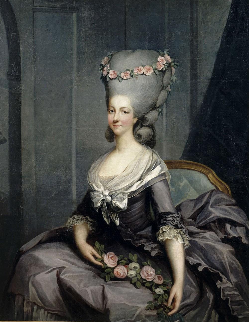 Antoine-François Callet. Retrato de la princesa de Lamballe. Hacia 1776. Palacio de Versalles.