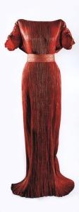 Mariano Fortuny. Vestido Delfos.